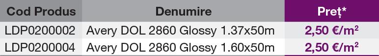 Avery DENNISON® DOL 2860 Glossy